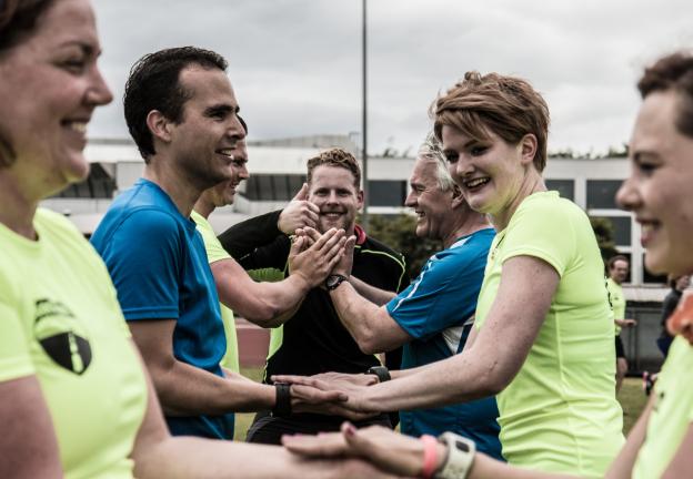 Personal Training Chantor van Beek van Runiversity, trainen met hartslagzones