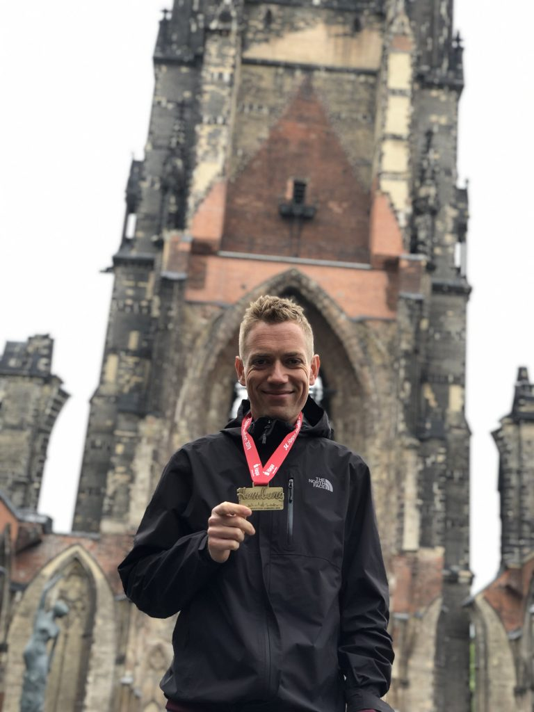 Redmar Rieter persoonlijk trainingsschema Haspa Marathon Hamburg
