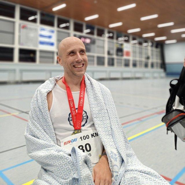 Thijs van 't Riet finisher 100k Winschoten 2021